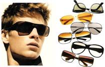 Мужские очки для треугольного лица